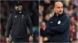 City-Liverpool, Guardiola: «Loro i migliori». Klopp: «Chiedo coraggio»