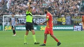 Serie B, Giudice Sportivo: sette calciatori fermati per un turno