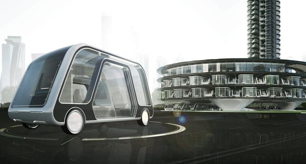 Autonomous Travel Suite, la stanza viaggiante a guida autonoma