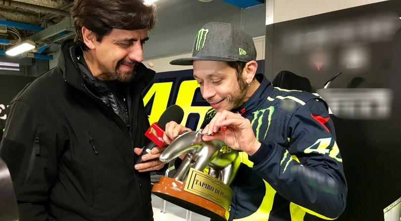 Tapiro d'oro a Valentino Rossi