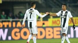 Gli imbattuti del 2018, la Juventus domina: guida Alex Sandro