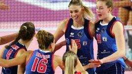 Volley: A1 Femminile, l'antipasto della 1a di ritorno è Scandicci-Filottrano