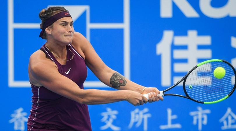 Wta Shenzhen, trionfa Sabalenka: Riske sconfitta al terzo set