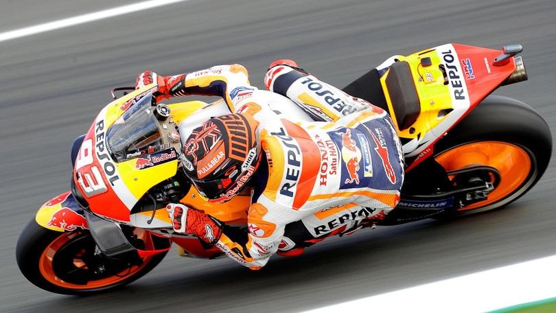 Motomondiale, Texas: Marquez vola a 1,20, Dovizioso e Rossi lontani