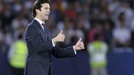 Real Madrid, Solari respinge le critiche: «Siamo passati dal nono al quarto posto»
