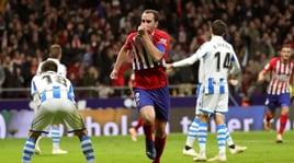 Godin, Simeone apre all'addio: «Con l'Atletico stanno cercando la soluzione migliore»