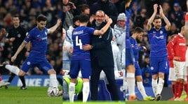 Chelsea, Fabregas sbaglia il rigore dell'addio ma esce con una standing ovation
