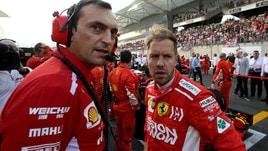 F1 Ferrari, Vettel: «Troveremo una soluzione per il simulatore»