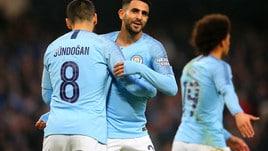 Il Manchester City si diverte in FA Cup: sette gol alRotherham