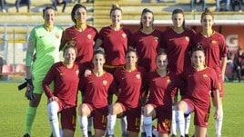 La Roma femminile vince in rimonta contro il Sassuolo