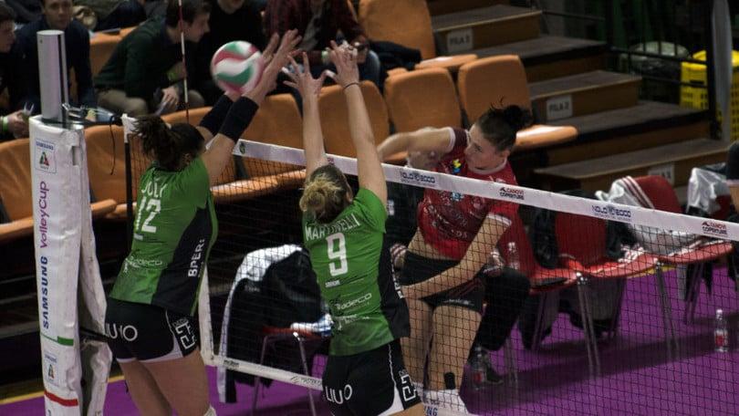 Volley: A2 Femminile, Caserta vola, cade il Cus Torino