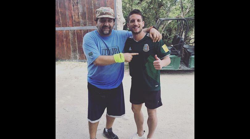 """Mertens in Messico nella villa di Pablo Escobar con la musica di """"Narcos"""""""