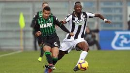 Calciomercato Sassuolo, l'obiettivo è blindare Rogerio