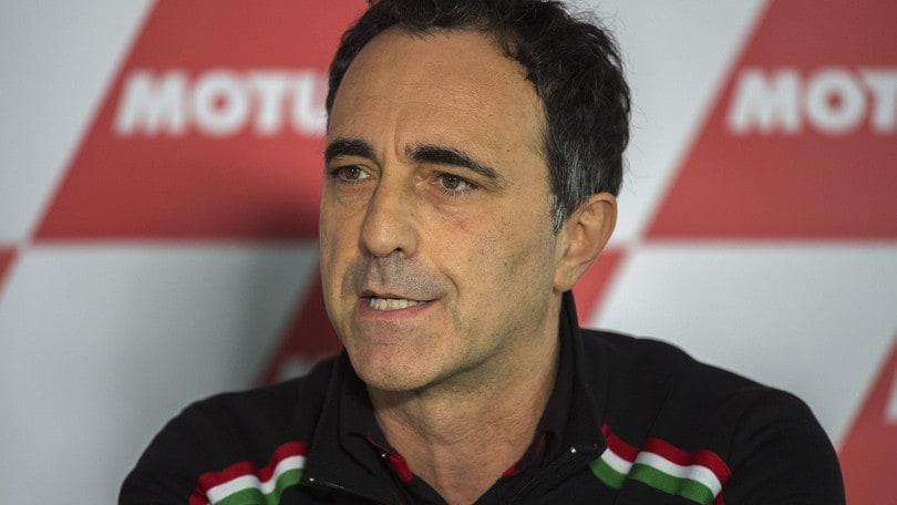 MotoGp Aprilia, Albesiano: «Nel 2019 non abbiamo più scuse»