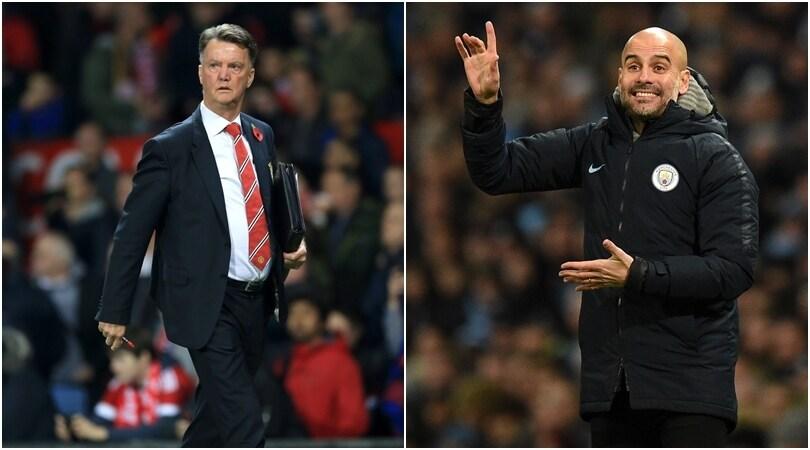 Van Gaal boccia Guardiola: «In difesa il City è terribile»
