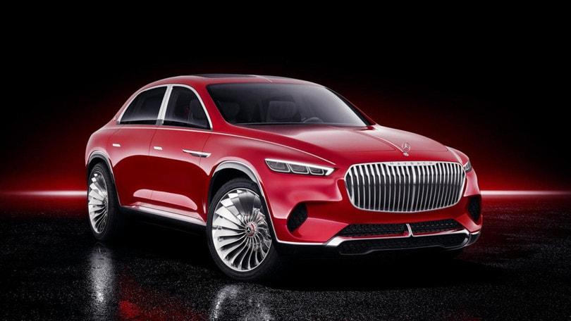Mercedes, con Maybach arriva il SUV extra-lusso