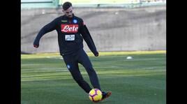 Serie A Napoli, allenamento in vista della Roma. Ruiz: differenziato