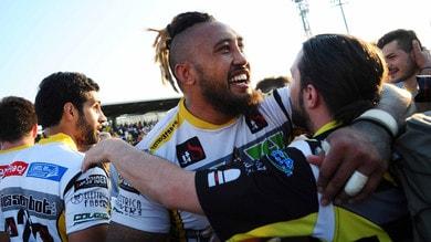 Rugby: Calvisano, un finale da brivido contro Valorugby