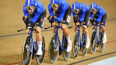 Ciclismo su pista: ecco i 14 convocati di Davide Cassani