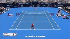 WTA Sydney - Kvitova, partenza vincente