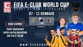 Bologna, Parma e Sampdoria alla conquista del mondiale per club di FIFA19