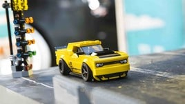 Dodge Speed Champions con Lego: foto