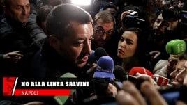 Napoli, no alla linea Salvini