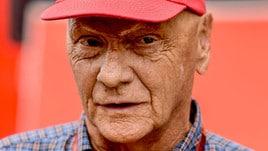 F1, ancora paura per Lauda: ha una polmonite