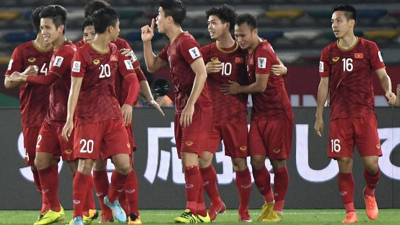 Coppa D'Asia: parte forte l'Iraq, battuto il Vietnam 3-2