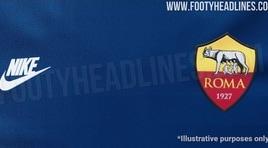 Roma, la terza maglia sarà blu?
