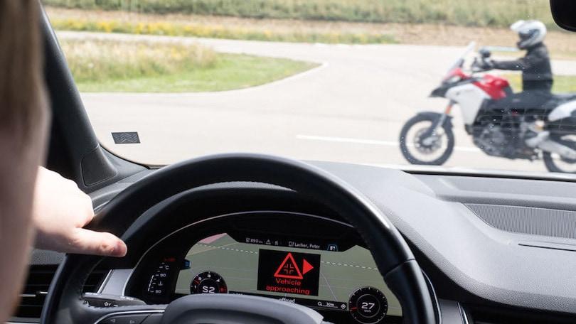 Connettività: Ducati 'comunica' con Audi e Ford