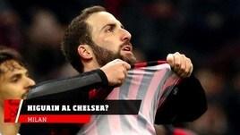Milan, Higuain verso il Chelsea