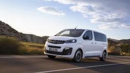 Nuova Opel Zafira Life, monovolume da 5 a 9 posti