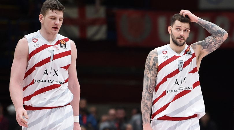 Basket, Eurolega: l'Olimpia Milano cade anche a Monaco