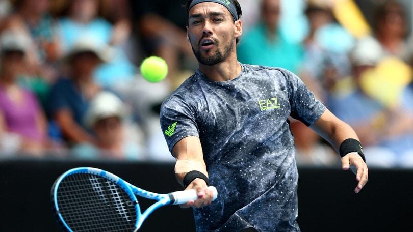 Tennis, Australian Open: in quota debutto ok per Fognini