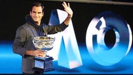 Australian Open, tabellone maschile: Federer con Nadal, Djokovic con Zverev