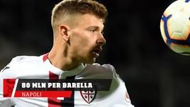 Napoli, 80 milioni per prendere Barella