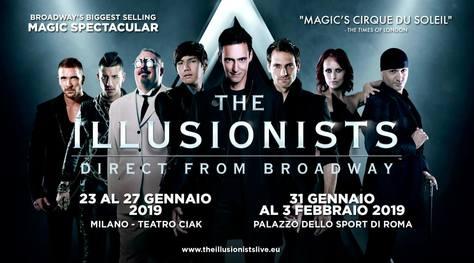 The Illusionists da Broadway all'Italia