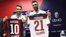 Bologna, ecco Sansone e Soriano