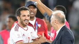 Coppa d'Asia, gli Emirati Arabi di Zaccheroni battono l'India e avvicinano gli ottavi