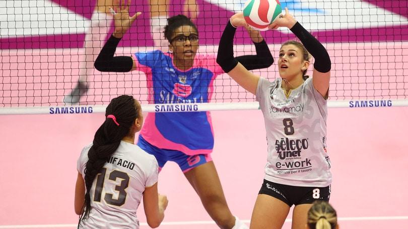 Volley: A1 Femminile, Busto fa il colpaccio a Monza