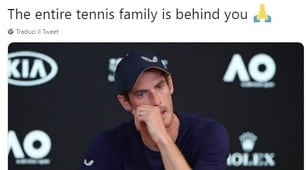 Tennis, le reazioni dei campioni all'addio di Andy Murray
