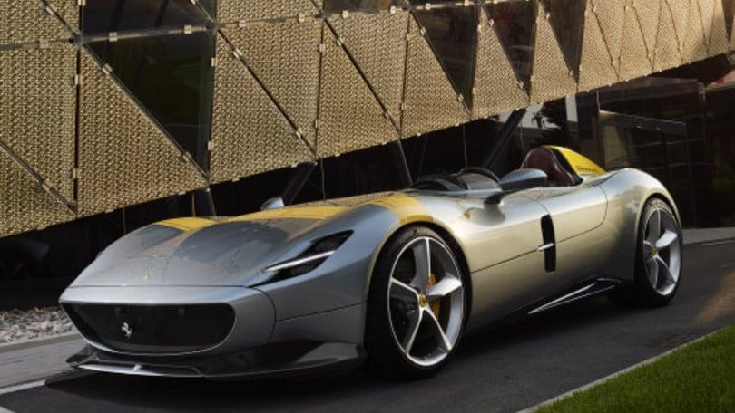 Ferrari Monza SP1 e SP2, emozioni in video
