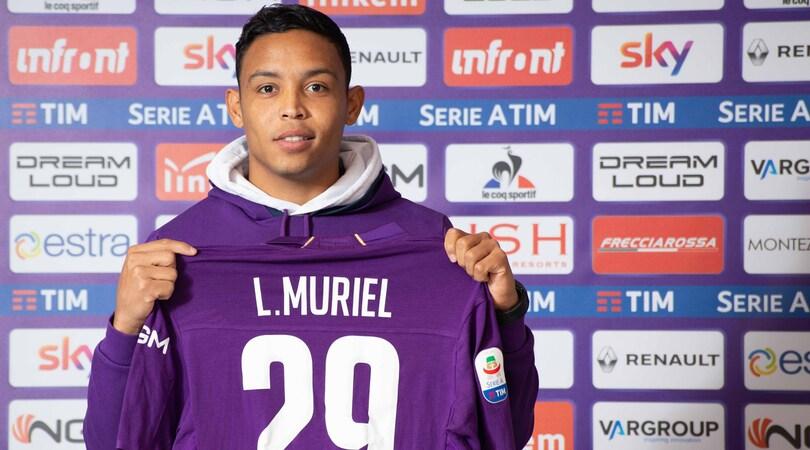 Serie A Fiorentina, Muriel si presenta: «Qui voglio dare il meglio di me stesso»