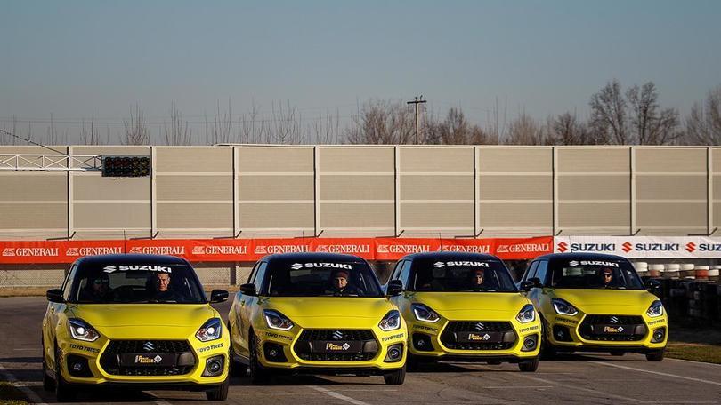 Riparte Rally Italia Talent, Suzuki c'e'