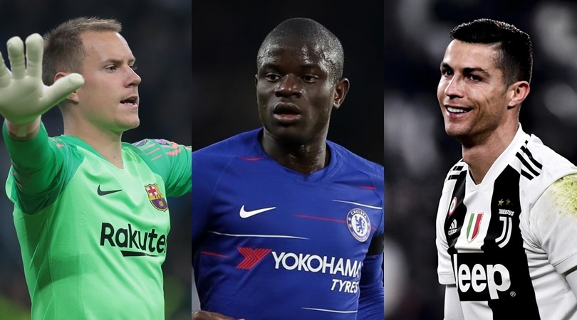 Uefa, ecco l'undici ideale del 2018