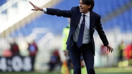 Lazio-Novara, Inzaghi: «Vittoria meritata. Mercato? L'obiettivo è di migliorarci»