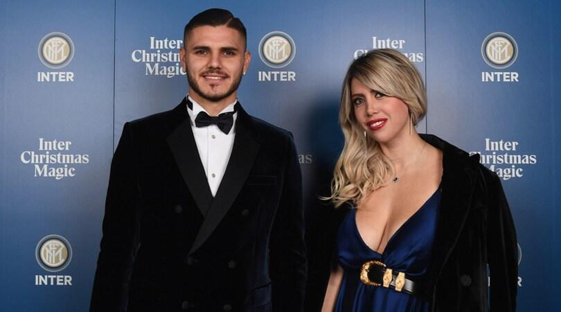 L'Inter convoca Wanda Nara e Icardi