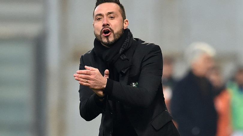 Coppa Italia Sassuolo, De Zerbi: «A Napoli per passare il turno»