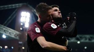 Sampdoria-Milan, decide la doppietta di Cutrone ai supplementari